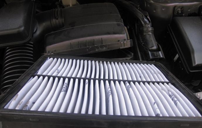 北京现代ix35 空滤和空调滤更换